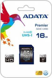 Card de memorie ADATA SDHC Ultra-High Speed 16GB CLS10 Carduri Memorie
