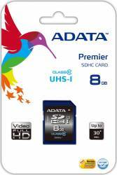 Card de memorie ADATA SDHC Ultra-High Speed 8GB Clasa 10