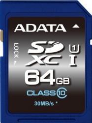 Card de memorie ADATA SDXC Premier 64GB UHS-I U1 Clasa 10