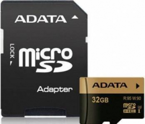 Card de Memorie ADATA XPG microSDHC 32GB Clasa 10 UHS-I U3 95MB/s + Adaptor SD Carduri Memorie
