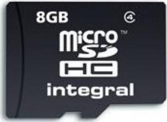 Card de memorie Integral 8GB microSDHC Clasa 4
