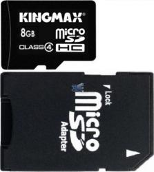 Card de memorie Kingmax microSD 8GB Adaptor