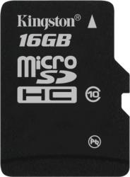 Card de Memorie Kingston microSDHC 16GB Class10