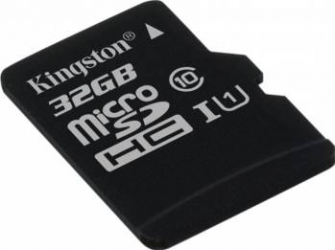 Card de Memorie Kingston microSDHC 32GB Clasa 10 45MBps Carduri Memorie