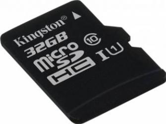 Card de Memorie Kingston microSDHC 32GB Clasa 10 45MBps Carduri Memorie