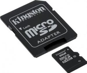 Card de Memorie Kingston microSDHC 8GB Class10