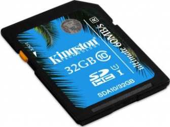 Card de memorie Kingston SDHC UHS-I Ultimate 32GB Clasa 10