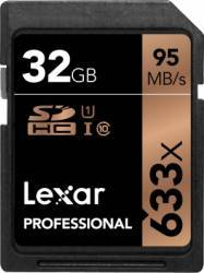 Card de Memorie Lexar Professional SDHC 633x 32GB Clasa 10 UHS-I 95MB/s Carduri Memorie