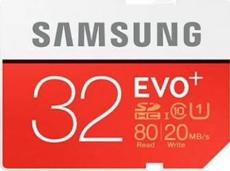 Card de Memorie Samsung EVO SDHC 32GB Clasa 10 UHS-1