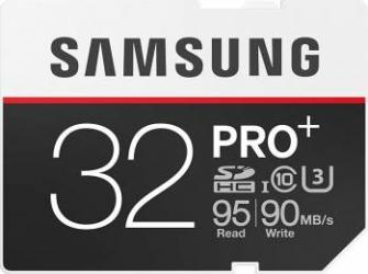 Card de Memorie Samsung PRO+ SDHC 32GB Clasa 10 UHS-3