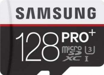Card de Memorie Samsung Pro+ microSDXC 128 GB Clasa 10 UHS-I + Adaptor