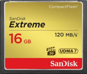 Card de Memorie SanDisk Extreme Compact Flash 16GB UDMA7