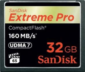Card de Memorie SanDisk Extreme Pro Compact Flash 32GB UDMA7 Carduri Memorie
