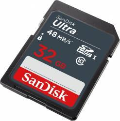 Card de Memorie SanDisk Ultra SDHC 32GB Clasa 10 UHS-I 48MBps