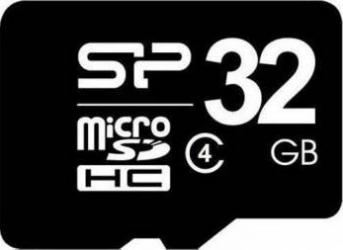 Card de Memorie SILICON POWER microSDHC 32GB Class 4 Carduri Memorie