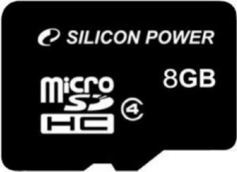 Card de Memorie Silicon Power microSDHC 8GB Class4