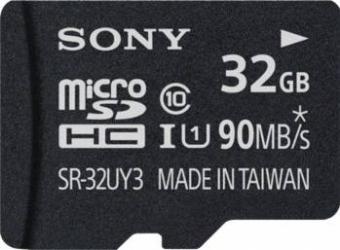 Card de memorie Sony Micro SDHC 32GB Clasa 10 + adaptor SD 90 MBs