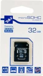 Card de memorie Tellur 32 GB microSDHC Clasa 4 + Adaptor SD