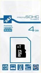 Card de memorie Tellur 4GB MicroSD Clasa 4