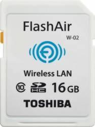 Card de Memorie Toshiba Flash Air Wi-Fi SDHC 16GB Clasa 10