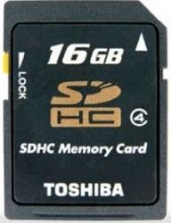 Card de memorie Toshiba SDHC 16GB clasa 4