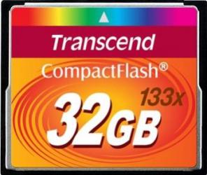 Card de Memorie Transcend Compact Flash 32GB 133X Carduri Memorie
