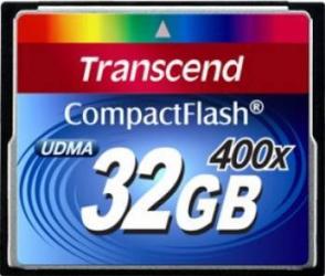 Card de Memorie Transcend Compact Flash 32GB 400x Carduri Memorie