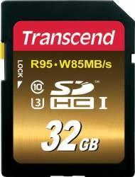 Card de Memorie Transcend SDHC 32GB Clasa 10 UHS-1 U3 carduri memorie