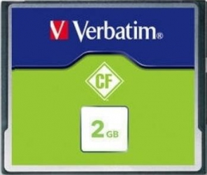 Card de Memorie Verbatim Compact Flash 2GB