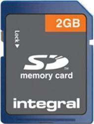 Card Memorie Integral SD 2GB insd2gv2nb8