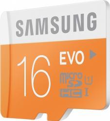 Card memorie Samsung microSD EVO 16GB Clasa 10