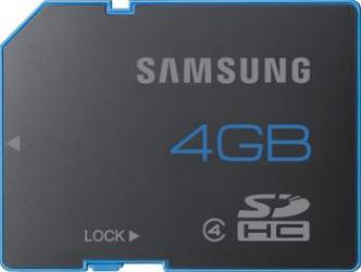 Card memorie Samsung Standard SD 4GB Clasa 6