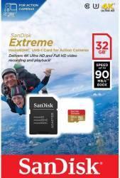 Card Memorie SanDisk Extreme MicroSDHC 32GB Clasa 10 + Adaptor SD