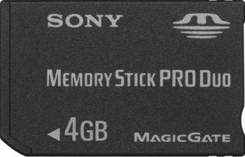 Card memorie Sony Memory Stick Pro Duo 4GB