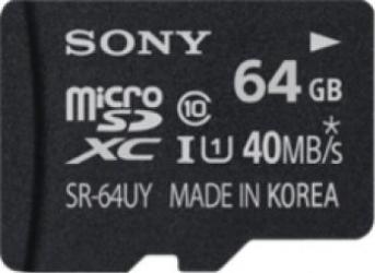 Card Memorie Sony microSDXC 64GB Class 10