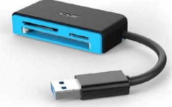Card Reader SSK SCRM330 USB 3.0 Cititoare de Carduri
