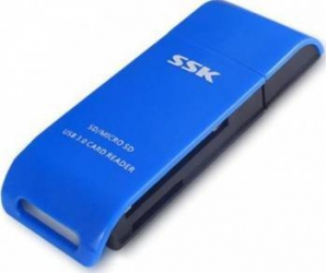 Card Reader SSK SCRM331 USB 3.0 Cititoare de Carduri