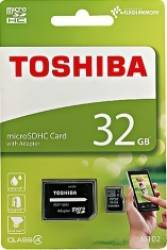 Card Toshiba Micro SD 32 GB Clasa 4 Carduri Memorie