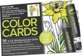 Carte ce colorat - Chameleon Flowers