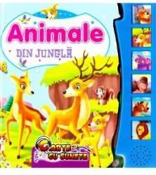 Carte cu sunete - Animale din Jungla - carte cu sunete animale din jungla - Carte cu sunete – Animale din Jungla
