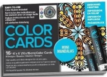 Carte de colorat - Chameleon Mini Mandalas