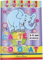 Carte de colorat 3-4 ani colectia Campionii title=Carte de colorat 3-4 ani colectia Campionii