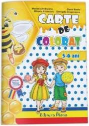 Carte de colorat 5-6 ani - Mariana Andreianu Mihaela Andreianu Elenea Bentu Georgeta Drasoveanu