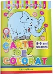 Carte de colorat 5-6 ani colectia Campionii title=Carte de colorat 5-6 ani colectia Campionii