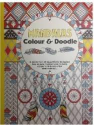 Carte de colorat pentru adulti Mandalas