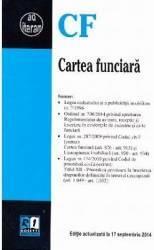 Cartea funciara act 17 septembrie 2014