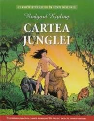 Cartea junglei benzi desenate - Rudyard Kipling