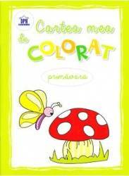 Cartea mea de colorat Primavara