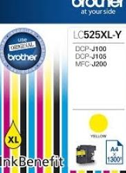 Cartus Brother LC525XLY DCPJ100 DCPJ105 MFCJ200 1300 pag Cartuse Tonere Diverse
