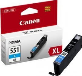 Cartus Canon CLI-551 XL Cyan IP7250 MG5450 MG6350 Cartuse Tonere Diverse